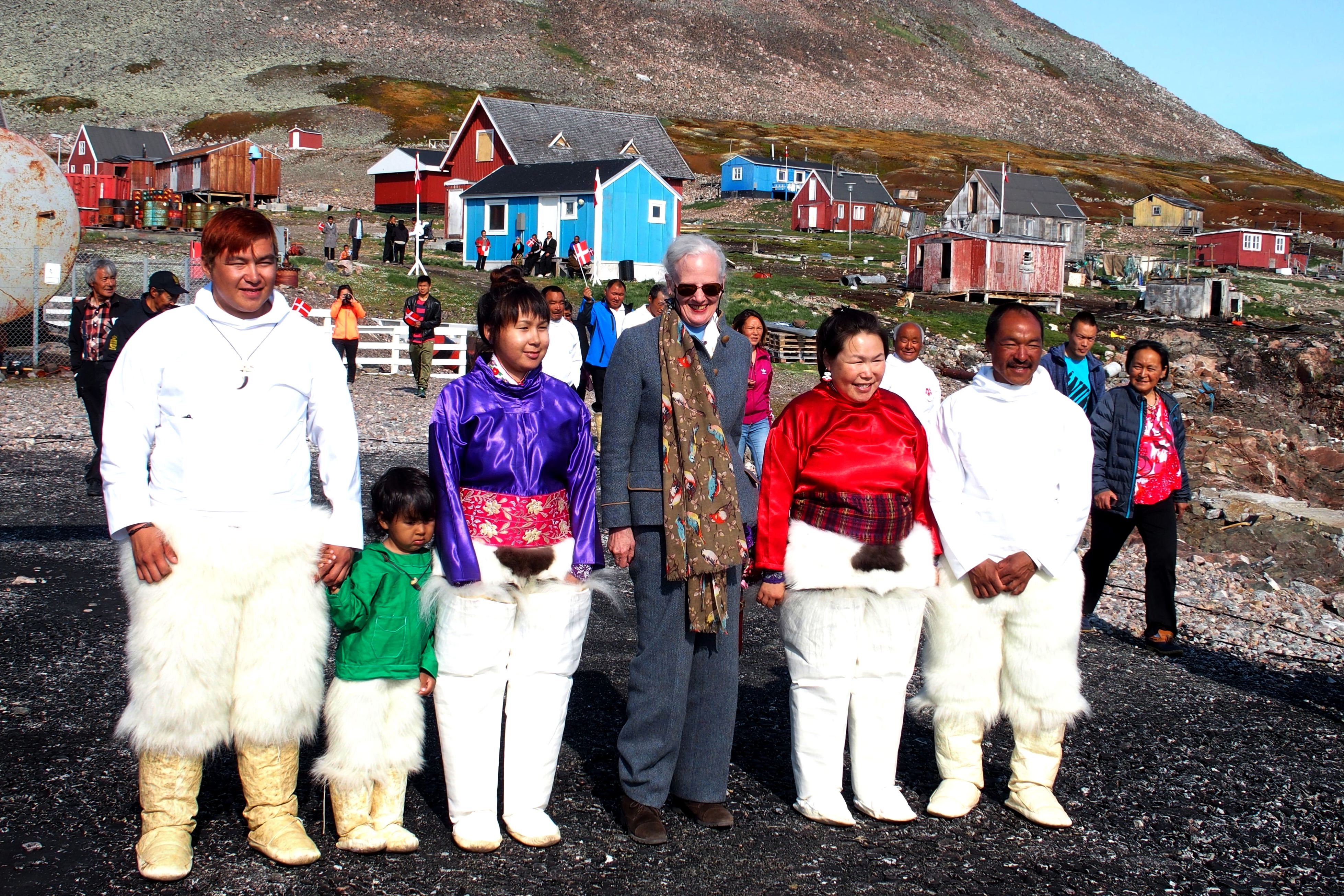 Dronning Margrethe i Savissivik, Grønland
