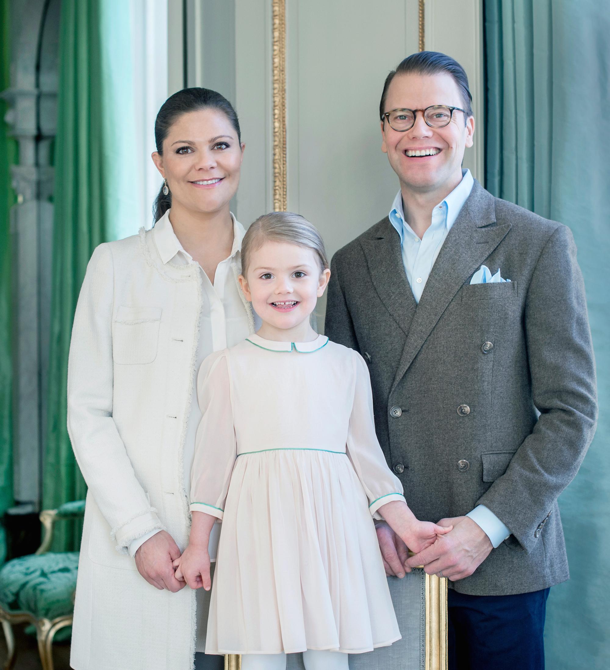 H.K.H. Kronprinsessan Victoria / H.R.H. Crown Princess Victoria / H.K.H. Prins Daniel / H.R.H. Prince Daniel / H.K.H. Prinsessan Estelle / H.R.H. Princess Estelle Februari /February 2016