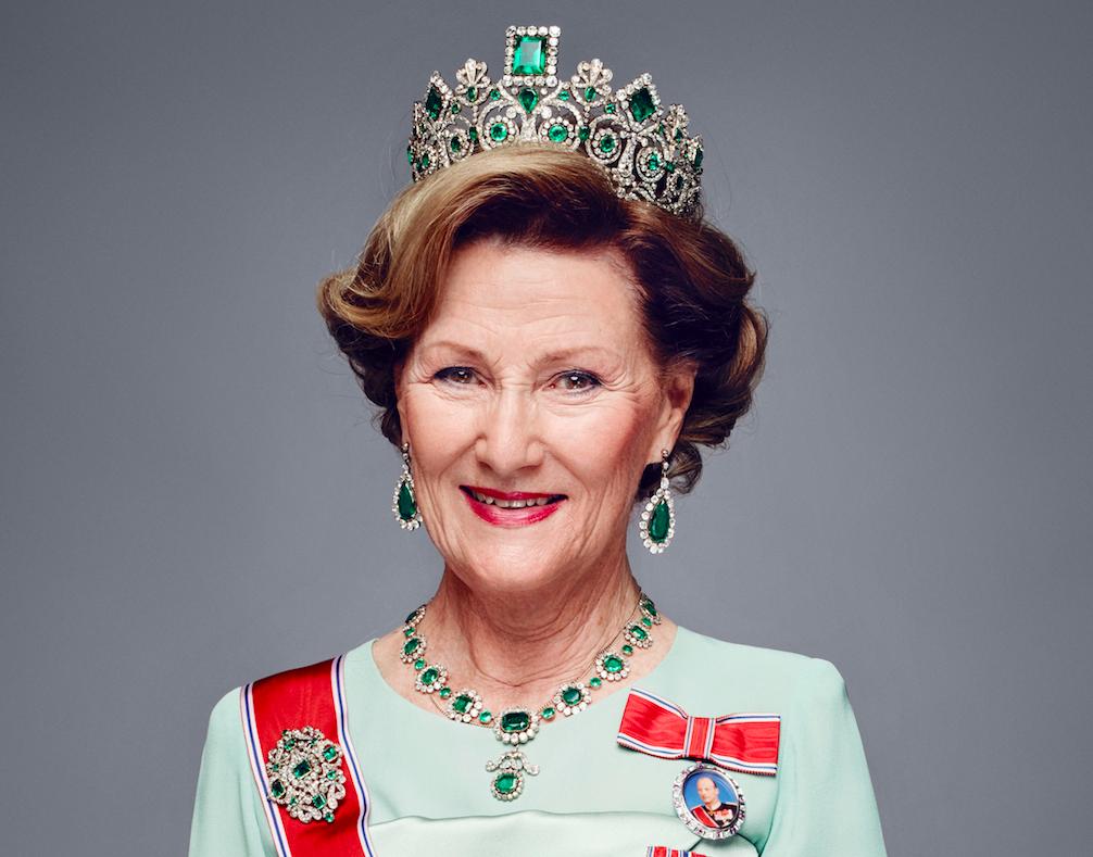 Tiaraene i det norske kongehuset